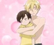 Episode 7 - tamaki hugging haruhi