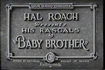 BabyBrother 1927