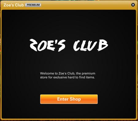 Zoe's Club Store
