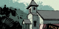 Reverend Anderson's church (comics)