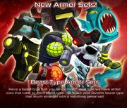 Beast Typ Armor Sets