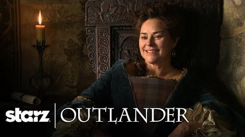 Outlander Diana Gabaldon's Cameo Appearance STARZ
