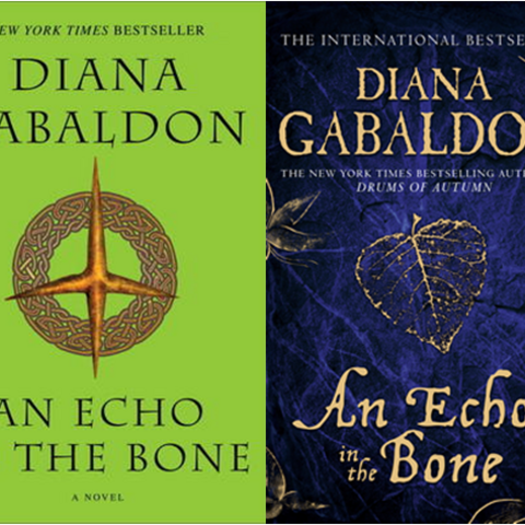 US and UK covers, hardback and paperback