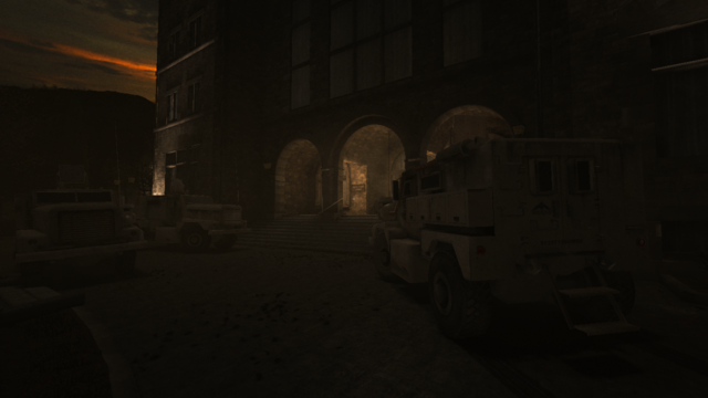 File:Military armored vehicles parked in front of the asylum..png