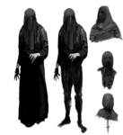 Temple Gate's NPCs Early Concept 3