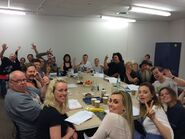 Oct 21 – Table read