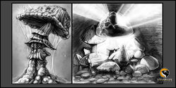 Mushroom Concept Art