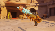 Pharah raptorion golden rocketlauncher