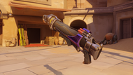 Pharah amethyst rocketlauncher