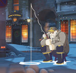 Winter Wonderland - Reinhardt - Ice Fishing spray
