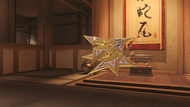 Genji nihon golden shuriken