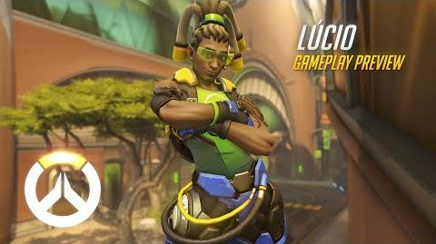 Lúcio Gameplay Preview Overwatch 1080p HD, 60 FPS