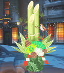 Winter Wonderland - Genji - Kadomatsu spray