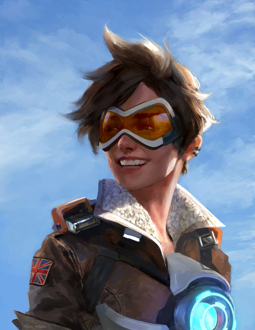 Image mei portrait png overwatch wiki fandom powered by wikia - Tracer By Miguel Mercado