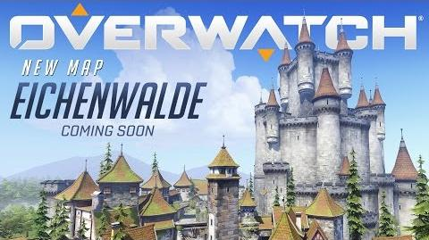 NOW AVAILABLE Eichenwalde New Map Preview Overwatch
