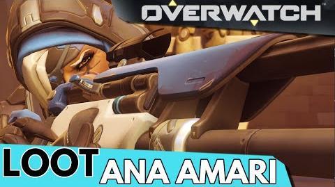 Overwatch Ana Amari Unlockables!