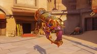 Roadhog junkensteinsmonster golden scrapgun