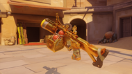 Junkrat bleached golden fraglauncher