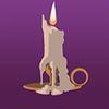 Pi candle