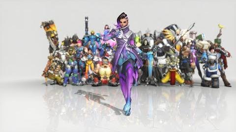 Overwatch - Anniversary Sombra emote - Dance