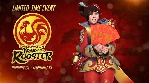 NEW SEASONAL EVENT Welcome to the Year of the Rooster!