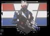 Soldier 76 Spray - American Hero
