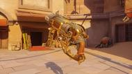 Roadhog classic golden scrapgun