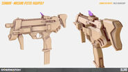 Sombra machine pistol highpoly