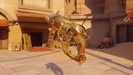 Roadhog rudolph golden scrapgun