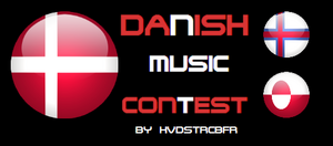 Official Danish Music Contest logo