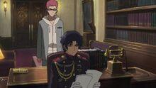 Episode 4 - Kimizuki asking Guren about getting the Black Demon Series