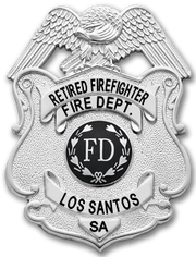 LSFD Retired Badge