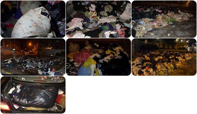 File:-棄物發現- 土瓜灣大量衣物被棄置街頭3.jpg