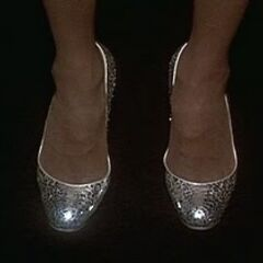 Diana Ross in Silver Shoes in <i>The Wiz</i>, (1978)