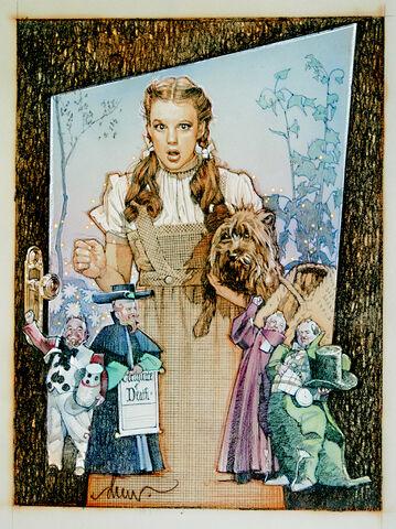 File:The Wizard Of Oz by DrewStruzan.jpg