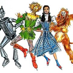 <b>Art Designs from The Wizard Of Oz: On Ice</b>