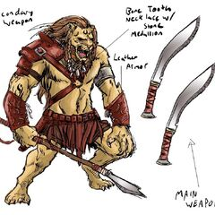 Thane The Cowardly Lion