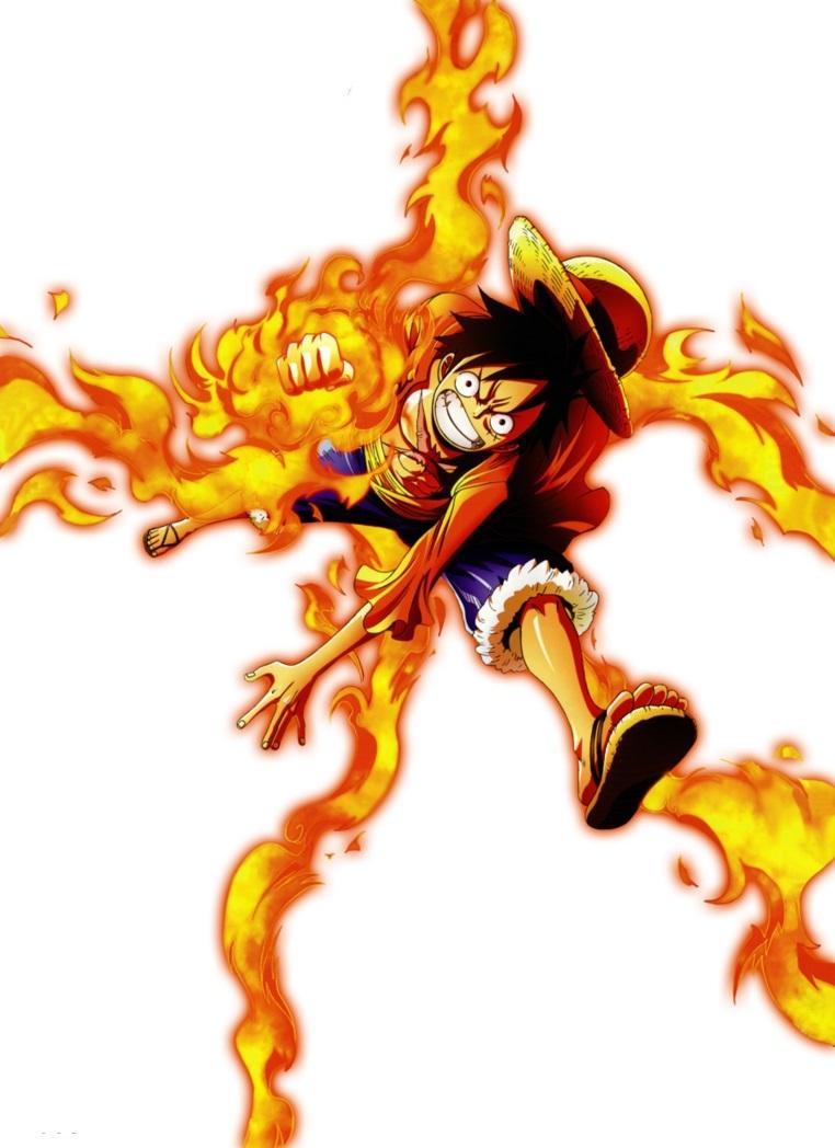 Image - Luffy red hawk render by artofarcher-d5pwdhd.jpg ...