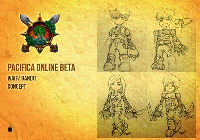 Pacifica Online-Waif Bandit Concept Art