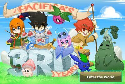 Pacifica Online - Login Screen - October 2013