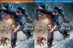 Pacific Rim DVD Releases