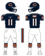 Bears color uniform