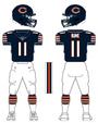 Bears color uniform