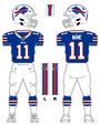 Bills color uniform