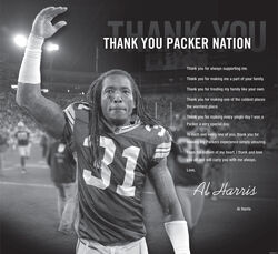 Al Harris thank you