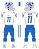 Lions white uniform