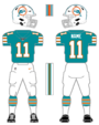 Dolphins alternate uniform