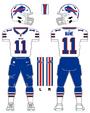 Bills white uniform