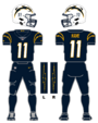 Chargers alternate uniform