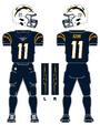 Chargers alternate uniform